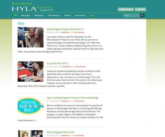 Hyla Middle School