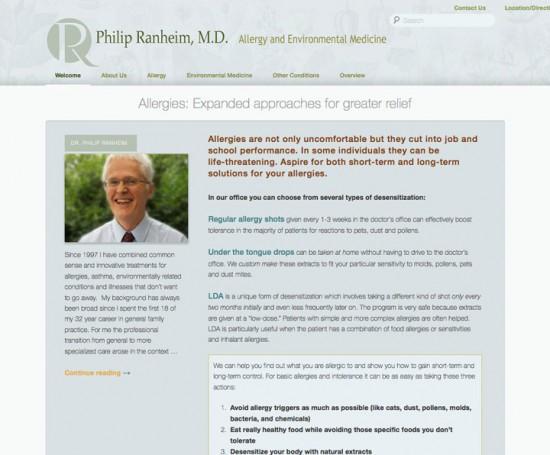 Dr PD Ranheim