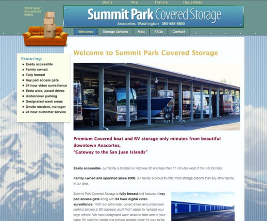 Summit Park Covered Storage