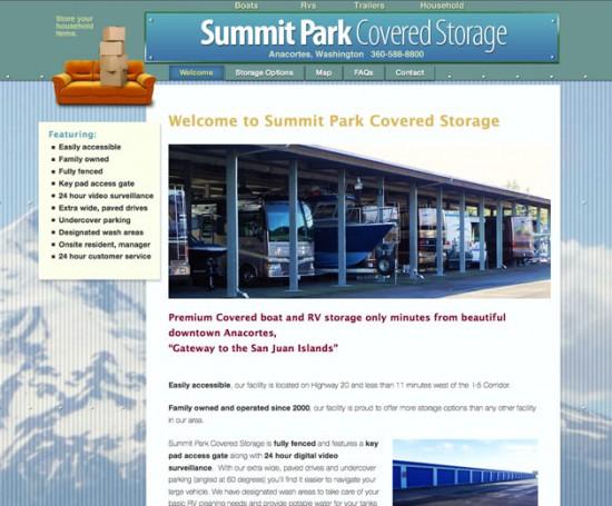 Summit Park Covered Storage