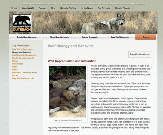 Western Wildlife Outreach