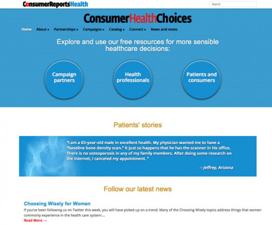 Consumer Health Choices